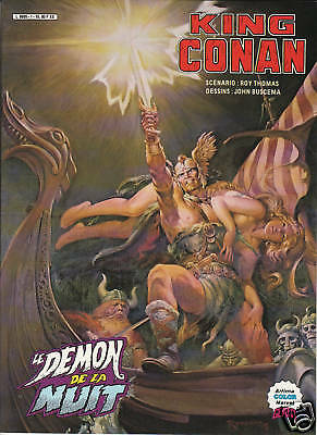 King Conan  Le Demon De La Nuit    Artima Color  Geant