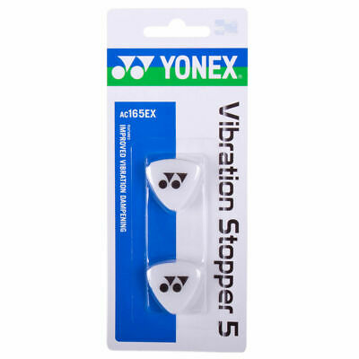 Yonex Vibration Stopper (AC165EX) Shock Absorber Dampeners - Pack of 2 - Clear