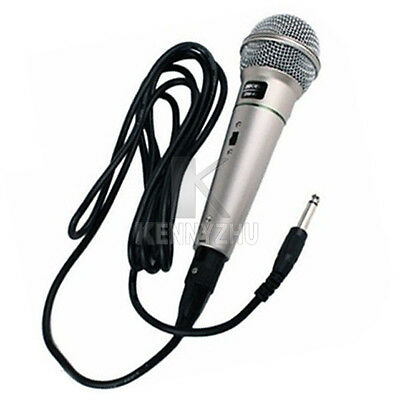 Multimedia Wired Singing Microphone Home KTV Karaoke Vocal Music Voice Mic
