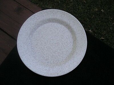 Homer Laughlin Country Sage Tan Speckled Dinner Plate
