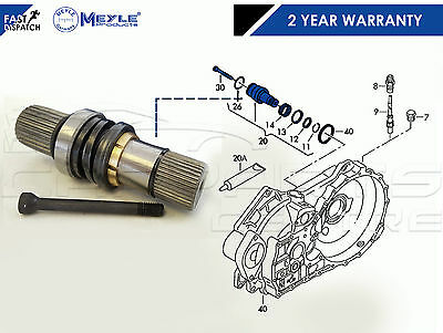 FOR TRANSPORTER T5 2.5 TDi RIGHT DRIVER SIDE INNER DRIVE GEARBOX STUB CV JOINT