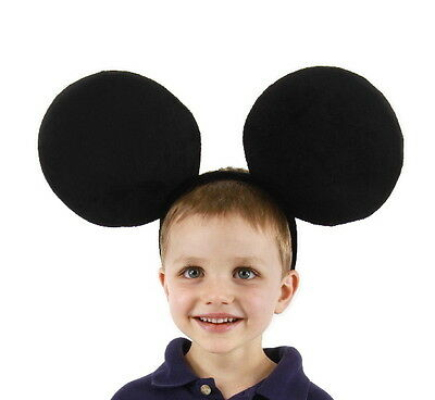 Mickey Mouse Oversized Ears and Headband Costume Accessory, NEW SEALED