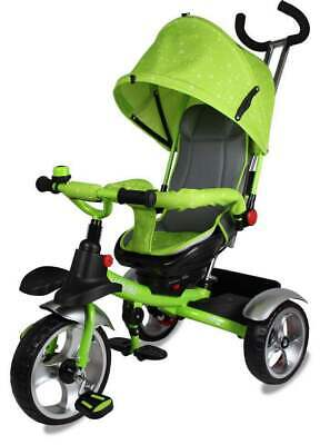 2020 3 Wheels  Tricycle Ride On Toy Baby Pram Stoller Jogger Car {Green}