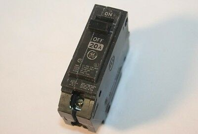 GE 20A Circuit Breaker Type THQL 1 Pole RT-693 General Electric THQL1120
