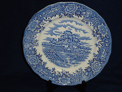 "10"" Salem China Co. ""English Village""  DINNER PLATE Olde Staffordshire England"