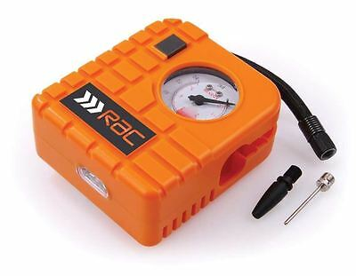 New RAC Compact Small Car/Bike Tyre Air Compressor / Inflator 12V