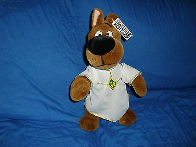 """Scooby-Doo Dressed as Angel 1998 Play by Play Plush 14"""" tall"""
