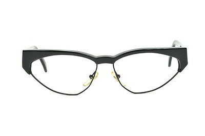 9eca689ade New Club LA 5200 Womens Vintage Dramatic Cat Eye Combo Eyeglasses Frames  Austria