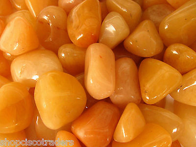Golden Quartz Tumbled Stone Chunky LG Size QTY - 1 PIECE Healer Healing Crystal
