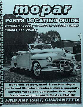 Find Any DeSoto Part with this De Soto Parts Locating Guide Book