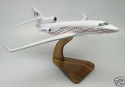 Falcon 7-X Dassault 7X Winglet Airplane Wood Model Free Shipping Regular