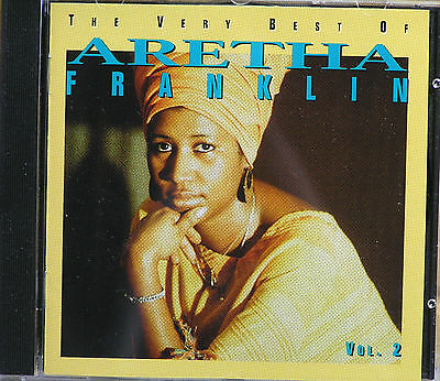 Aretha Franklin The Very Best Of  Volume 2 LIKE NEW  CD  1994 The Queen Of Soul