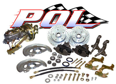 1964-1966 Chevelle El Camino Front Disc Brake Conversion Kit