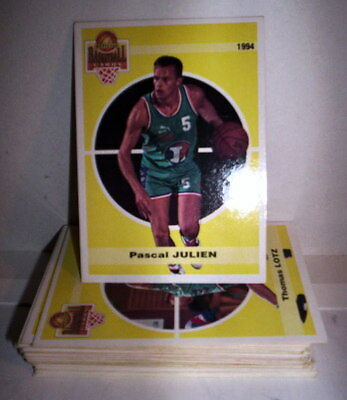 Superbe Lot 35 Cartes Basket Panini Snb 1994 Francais Special Chalons
