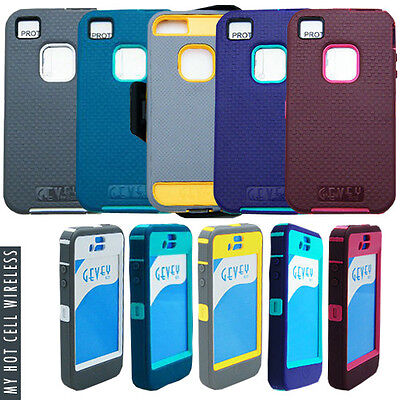 Gevey Box Iphone 4S/4 Phone Protector Stand Cover Case