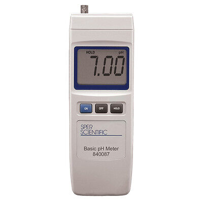 Handheld Digital pH Meter by Sper Scientific - 840087
