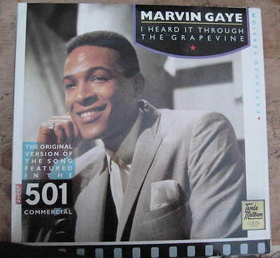 MARVIN GAYE I heard it through the grapevine/that's the way love is + 2more trax