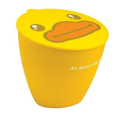 Semk B.duck Yellow Duck Trash Can Se70980 New