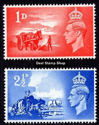 GB 1948 Channel Islands Liberation Complete Set SGC1-2 Unmounted Mint
