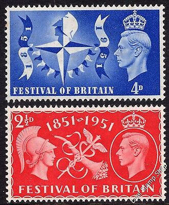 GB 1951 Festival of Britain Complete Set SG513-4 Unmounted Mint FREEPOST