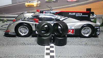 """XPG"" URETHANE SLOT CAR TIRES 2pr XPG-20125LM fits Slot.it Audi R18"
