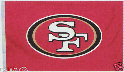 San Francisco 49ers 3' x 5' Licensed NFL All Pro Flag / Banner - Free Shipping
