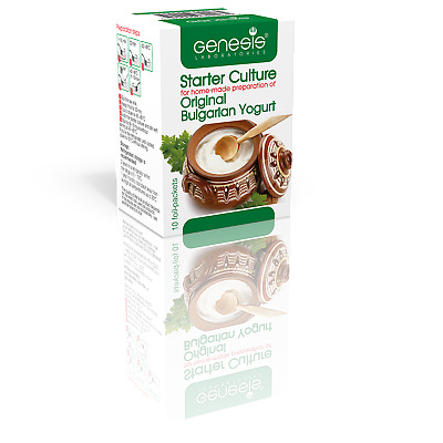 Bulgarian Starter Culture-Traditional Yogurt by GENESIS LABORATORIES up to 50l