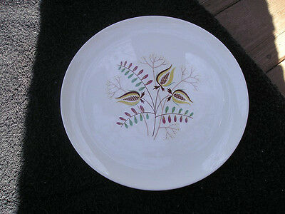 Taylor Smith Taylor Wood Hue Graphic Mustard Plants Off White Dinner Plate