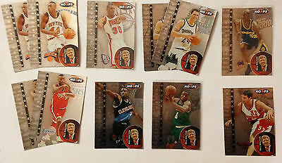 Superbe Lot 11 Cartes Basket Nba Talkin Hoops 1997 - Skybox
