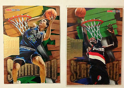 Lot 2 Cartes Basket Nba Hoops 1996 Slamland