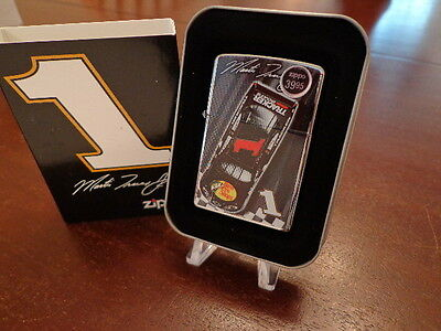 Martin Truex Jr #1 Bass Pro Shops Car Finish Line Nascar Zippo Lighter Mint