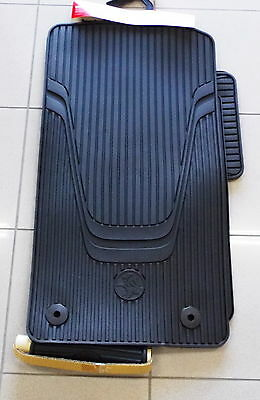 Genuine Holden New Front & Rear Rubber Floor Mats set of 3 Suits VF Commodore