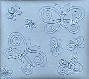 "Blue Suede Butterfly 12""X12"" Post Bound Scrapbook Album - Crafty Koala"