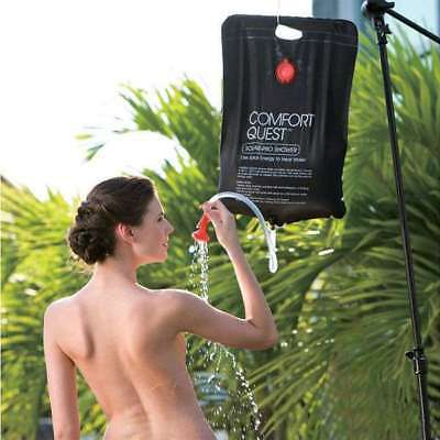 Bestway 20L Solar-Pro Powered Shower Solar Heated Camping Travel Refillable