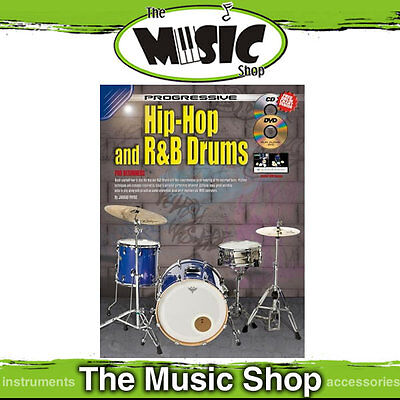 New Progressive Hip-Hop and R&B Drums Book with CD & DVD