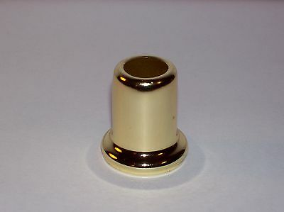 "Brass Plated Stamped Steel 1"" Neck Lamp Part New 50013J"