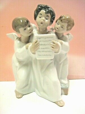 Angels' Group  Figurine By Lladro  #4542
