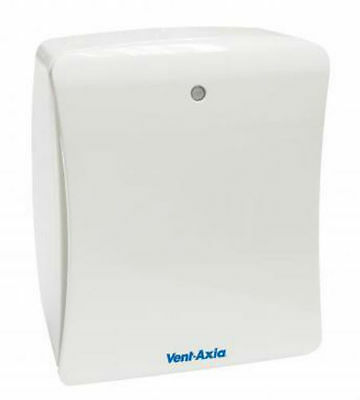 Vent Axia 427478 B Solo Plus T Bathroom/Toilet Extract Fan with Timer 427478A