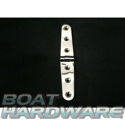 Strap Door Hinge 316 Stainless Steel 160 x 30mm Boat Deck Hardware DIY Easy NEW