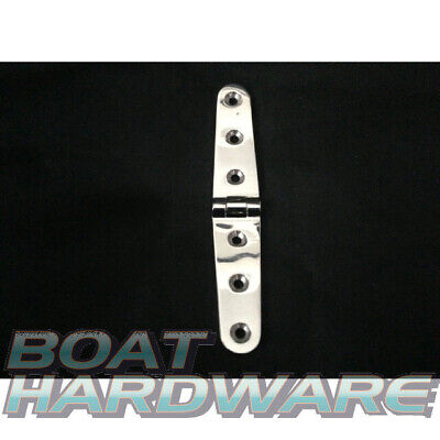 Strap Door Hinge Marine 316 Stainless Steel 160x30mm Boat Deck Hardware DIY