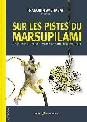 "FRANQUIN & CHABAT . Album Collection ARTBOOK ""Sur les Pistes du Marsupilami"""