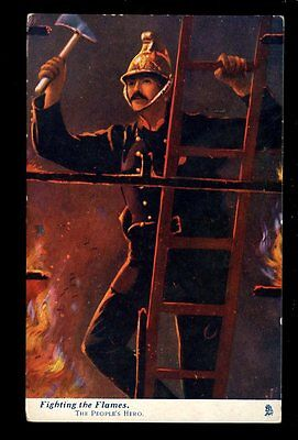 FIRE SERVICE The People's Hero Oilette series Fighting the Flames PPC