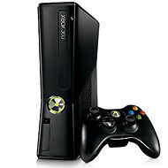 Microsoft Xbox 360 S (Latest Model)- 4 GB Matte Black Console (NTSC)