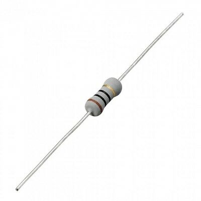 0.47R 1W 5% Metal Oxide Film Resistors, Pack of 5