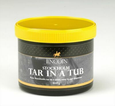 Lincoln Stockholm Tar in a Tub - Horse Pony Care - 400g