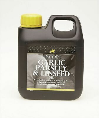 Lincoln Garlic Parsley & Linseed Oil - Horse Pony Supplements - 1 litre