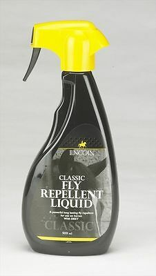 Lincoln Classic Fly Repellent Liquid - Horse Pony Spray - 500ml