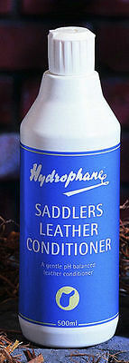 Hydrophane Saddlers Saddle Bridle Leather Conditioner - Tack Cleaning - 500ml