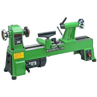 "BRAND NEW 10"" x 18"" HEAVY DUTY 5 SPEED BENCH TOP WOOD LATHE"