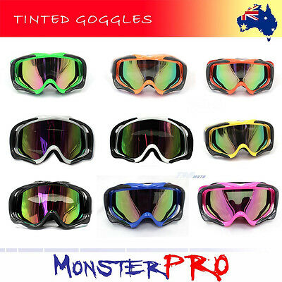 Anti-fog UV Protection Motocross MX Racing Goggles Quad Dirt Trail Bike Skiing